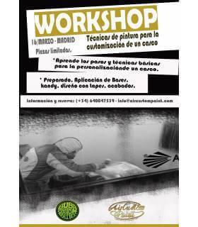 Curso de Pintura de Customización en Cascos