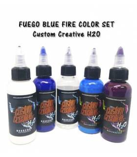 Fuego Blue Fire Color Set H2O - Custom Creative