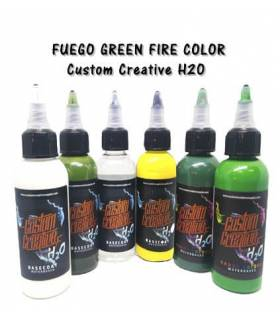 Fuego Green Fire Color Set H2O - Custom Creative