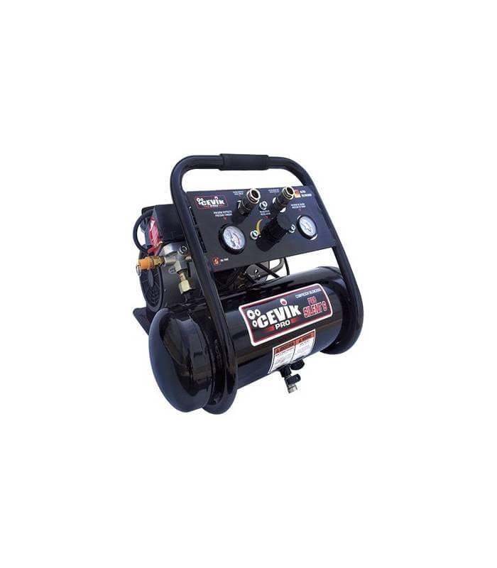 Compresor Silencioso Cevik ProSilent 6 L.