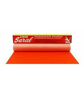 Papel Transfer Saral Rojo