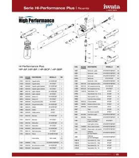 Aguja 0,2 para Aerógrafos Iwata HP-AP/BP/SBP