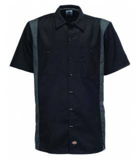 Camisa Two Tones Dickies Negro - Charcol