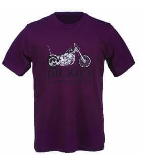Camiseta Dickies Hardville Maroon