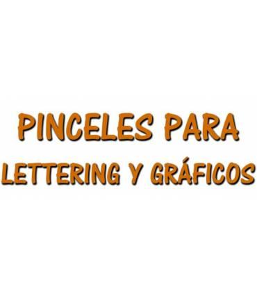 Pinceles de Lettering y Gráficos