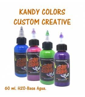Pintura base agua Kandy H2O 60 ml. Custom Creative